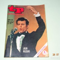 Coleccionismo de Revista Teleprograma: ANTIGUO TP TELEPROGRAMA Nº 204 - AÑO 1970 CON REPORTAJE DE JULIO IGLESIAS. Lote 129516931