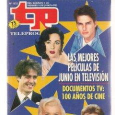 Coleccionismo de Revista Teleprograma: TP. TELEPROGRAMA. Nº 1522. 9 JUNIO 1995. (P/C33). Lote 131488690