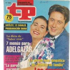 Coleccionismo de Revista Teleprograma: TP. TELEPROGRAMA. Nº 1625. 24 MAYO 1997. (P/C33). Lote 131495450
