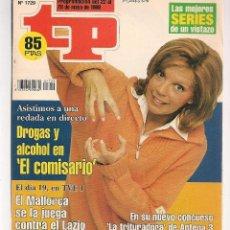 Coleccionismo de Revista Teleprograma: TP. TELEPROGRAMA. Nº 1729. 22 MAYO 1999. (P/C33). Lote 131506838