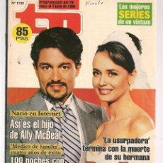 Coleccionismo de Revista Teleprograma: TP. TELEPROGRAMA. Nº 1730. 28 MAYO 1999. (P/C33). Lote 131506890