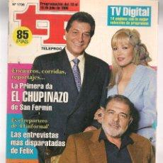 Coleccionismo de Revista Teleprograma: TP. TELEPROGRAMA. Nº 1736. 10 JULIO 1999. (P/C33). Lote 131507026