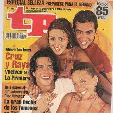 Coleccionismo de Revista Teleprograma: TP. TELEPROGRAMA. Nº 1832. 14 MAYO 2001. (P/C33). Lote 131546158