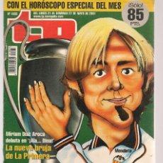 Coleccionismo de Revista Teleprograma: TP. TELEPROGRAMA. Nº 1833. 21 MAYO 2001. (P/C33). Lote 131546194