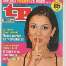 Coleccionismo de Revista Teleprograma: TP. TELEPROGRAMA. Nº 1834. . 28 MAYO 2001. (P/C33). Lote 131546222