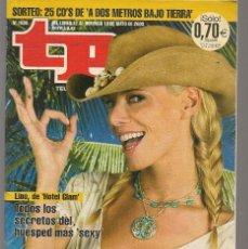 Coleccionismo de Revista Teleprograma: TP. TELEPROGRAMA. Nº 1936. 12 MAYO 2003. (P/C33). Lote 131562002
