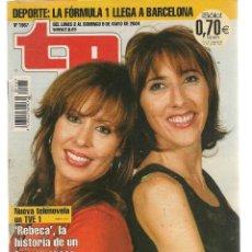 Coleccionismo de Revista Teleprograma: TP. TELEPROGRAMA. Nº 1987. 3 MAYO 2004. (P/C33). Lote 131574974