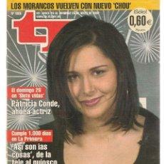 Coleccionismo de Revista Teleprograma: TP. TELEPROGRAMA. Nº 1885. 20 MAYO 2002. (P/C33). Lote 131586834