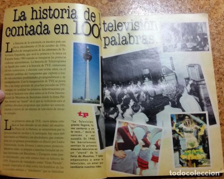 Coleccionismo de Revista Teleprograma: TP TELEPROGRAMA EXTRA 25 ANIVERSARIO BODAS DE PLATA 1966 - 1991 - Foto 4 - 132495850