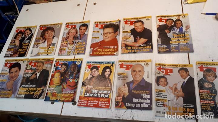 LOTE TP, TELEPROGRAMA. 2003 Y 2004. TRECE REVISTAS (Coleccionismo - Revistas y Periódicos Modernos (a partir de 1.940) - Revista TP ( Teleprograma ))