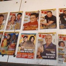 Coleccionismo de Revista Teleprograma: LOTE TP, TELEPROGRAMA. 2003 Y 2004. TRECE REVISTAS. Lote 132510506
