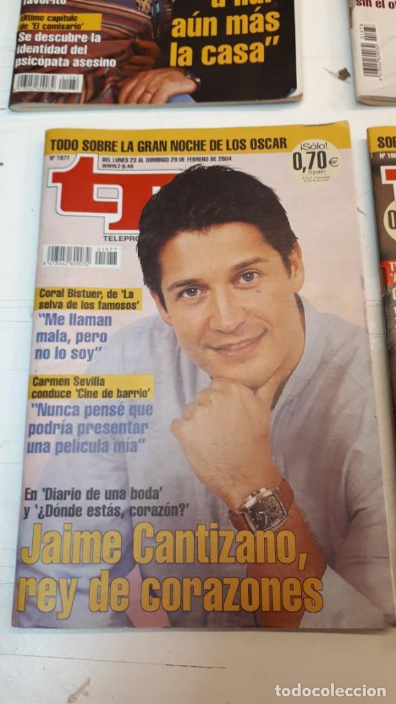 Coleccionismo de Revista Teleprograma: Lote TP, Teleprograma. 2003 y 2004. Trece revistas - Foto 2 - 132510506