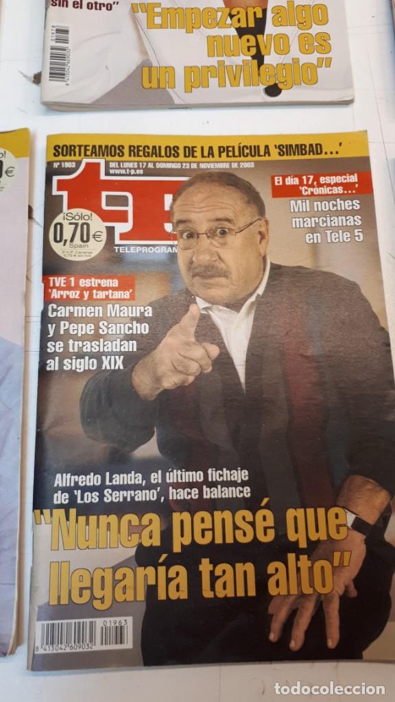 Coleccionismo de Revista Teleprograma: Lote TP, Teleprograma. 2003 y 2004. Trece revistas - Foto 3 - 132510506