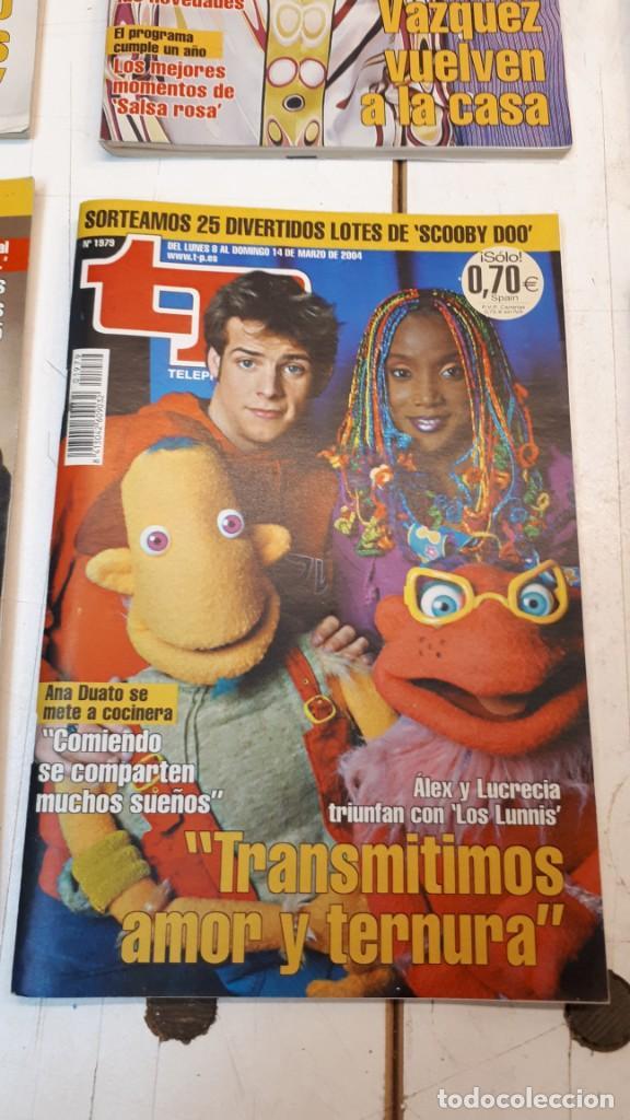 Coleccionismo de Revista Teleprograma: Lote TP, Teleprograma. 2003 y 2004. Trece revistas - Foto 4 - 132510506