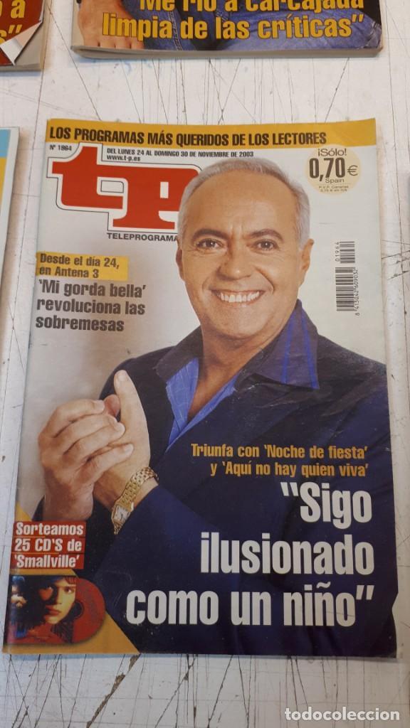 Coleccionismo de Revista Teleprograma: Lote TP, Teleprograma. 2003 y 2004. Trece revistas - Foto 6 - 132510506