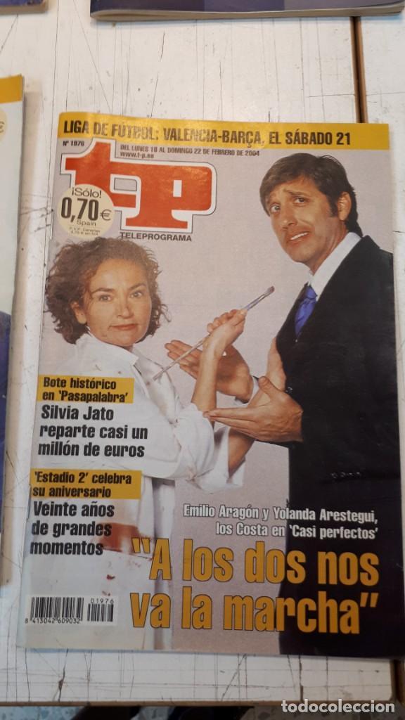 Coleccionismo de Revista Teleprograma: Lote TP, Teleprograma. 2003 y 2004. Trece revistas - Foto 7 - 132510506