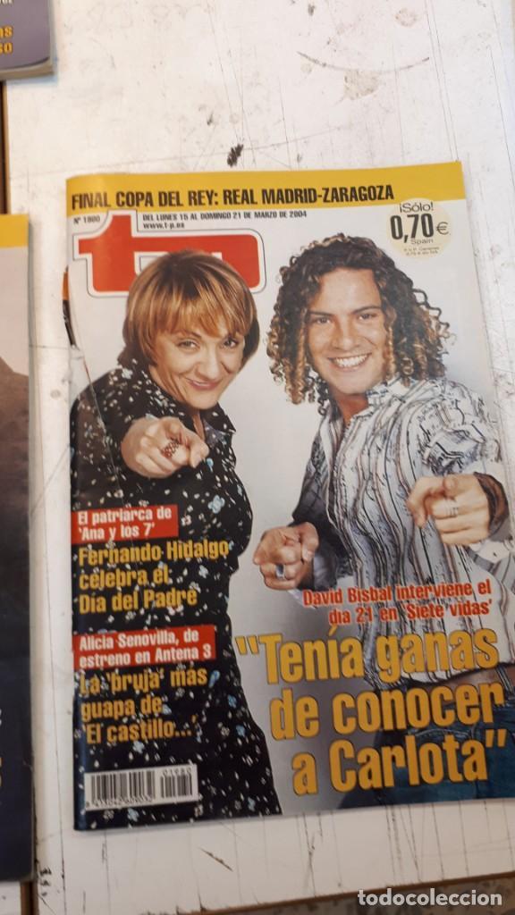 Coleccionismo de Revista Teleprograma: Lote TP, Teleprograma. 2003 y 2004. Trece revistas - Foto 8 - 132510506