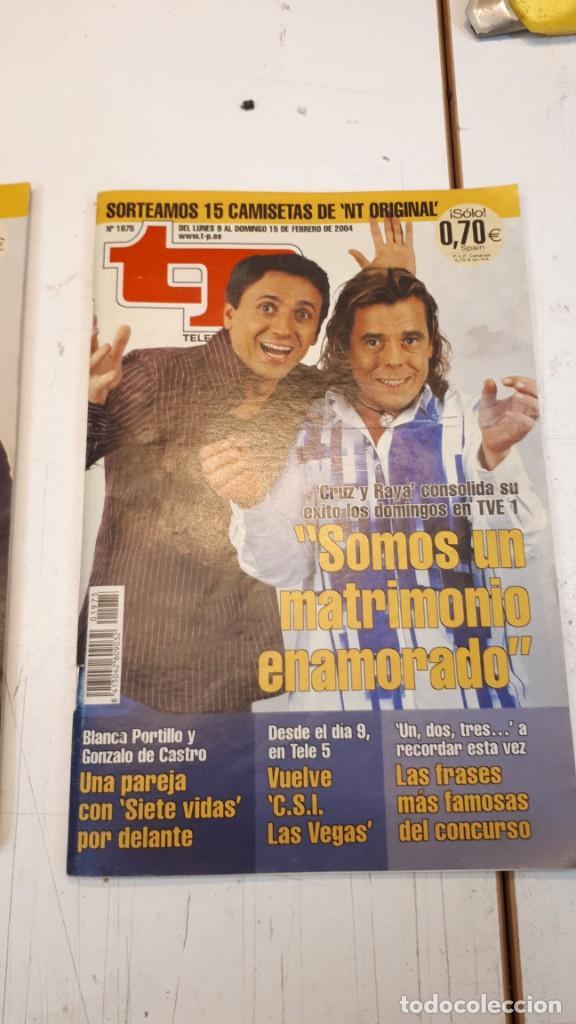 Coleccionismo de Revista Teleprograma: Lote TP, Teleprograma. 2003 y 2004. Trece revistas - Foto 9 - 132510506