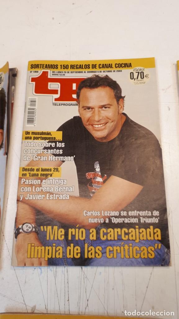 Coleccionismo de Revista Teleprograma: Lote TP, Teleprograma. 2003 y 2004. Trece revistas - Foto 10 - 132510506