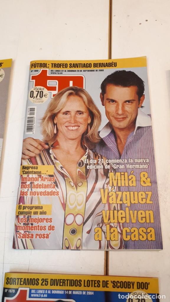 Coleccionismo de Revista Teleprograma: Lote TP, Teleprograma. 2003 y 2004. Trece revistas - Foto 12 - 132510506