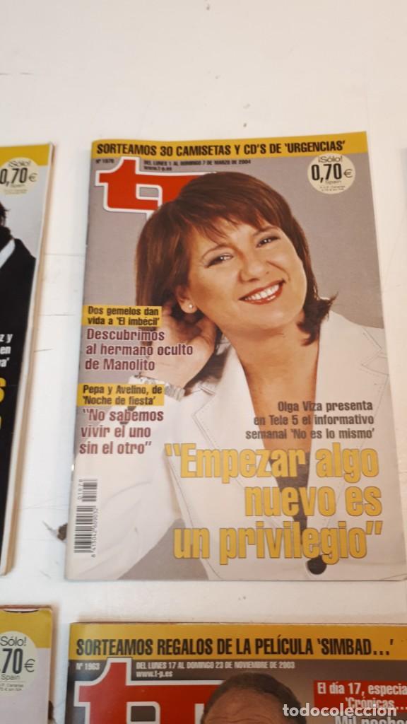 Coleccionismo de Revista Teleprograma: Lote TP, Teleprograma. 2003 y 2004. Trece revistas - Foto 13 - 132510506