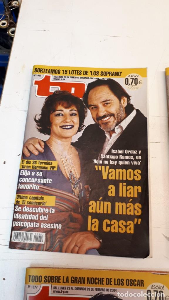 Coleccionismo de Revista Teleprograma: Lote TP, Teleprograma. 2003 y 2004. Trece revistas - Foto 14 - 132510506