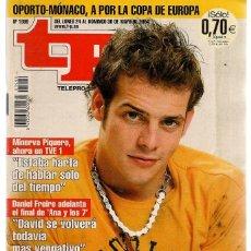 Coleccionismo de Revista Teleprograma: TP. TELEPROGRAMA. Nº 1990. 30 MAYO 2004. (P/C34). Lote 132671810