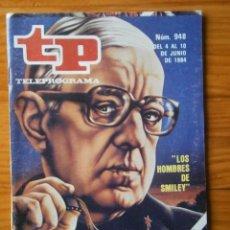 Coleccionismo de Revista Teleprograma: TELEPROGRAMA TP AÑO 1984. Lote 133016546