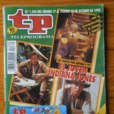 Coleccionismo de Revista Teleprograma: TELEPROGRAMA TP AÑO 1992 . Lote 133016746