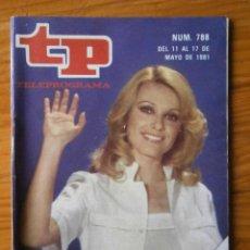 Coleccionismo de Revista Teleprograma: TELEPROGRAMA TP AÑO 1981. Lote 133016962