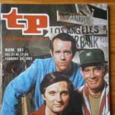 Coleccionismo de Revista Teleprograma: TELEPROGRAMA TP AÑO 1983. Lote 133017326