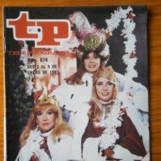 Coleccionismo de Revista Teleprograma: TELEPROGRAMA TP AÑO 1983. Lote 133017406