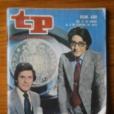 Coleccionismo de Revista Teleprograma: TELEPROGRAMA TP AÑO 1975. Lote 133017502