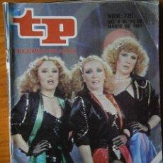 Coleccionismo de Revista Teleprograma: TELEPROGRAMA TP AÑO 1981. Lote 133017602