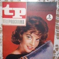 Coleccionismo de Revista Teleprograma: REVISTA TP TELEPROGRAMA Nº 13 MIKKI JAMISON - DIFICIL DE CONSEGUIR. Lote 133540526