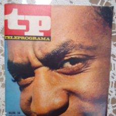 Coleccionismo de Revista Teleprograma: REVISTA TP TELEPROGRAMA Nº 34 BILL COSBY - DIFICIL DE CONSEGUIR. Lote 133553918