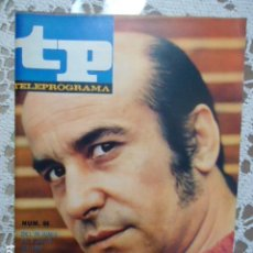 Coleccionismo de Revista Teleprograma: REVISTA TP TELEPROGRAMA Nº 64 JOSE MARIA PRADA - DIFICIL DE CONSEGUIR. Lote 133577610