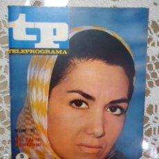 Coleccionismo de Revista Teleprograma: REVISTA TP TELEPROGRAMA Nº 70 ELVIRA QUINTILLA - DIFICIL DE CONSEGUIR. Lote 133578046