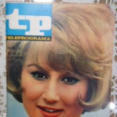 Coleccionismo de Revista Teleprograma: REVISTA TP TELEPROGRAMA Nº 74 MARISA MEDINA - DIFICIL DE CONSEGUIR. Lote 133578578