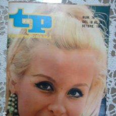 Coleccionismo de Revista Teleprograma: REVISTA TP TELEPROGRAMA Nº 76 NURIA CARRESI - DIFICIL DE CONSEGUIR. Lote 133578758