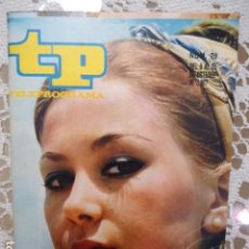 Collectionnisme de Magazine Teleprograma: REVISTA TP TELEPROGRAMA Nº 79 MARIA JOSE GOYANES - DIFICIL DE CONSEGUIR. Lote 133578902