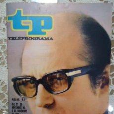 Coleccionismo de Revista Teleprograma: REVISTA TP TELEPROGRAMA Nº 86 AGUSTIN GONZALEZ - DIFICIL DE CONSEGUIR. Lote 133579514
