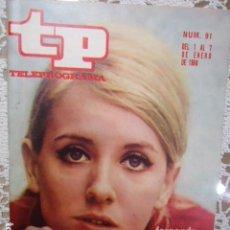Collectionnisme de Magazine Teleprograma: REVISTA TP TELEPROGRAMA Nº 91 FERNANDA HURTADO- DIFICIL DE CONSEGUIR. Lote 133579866