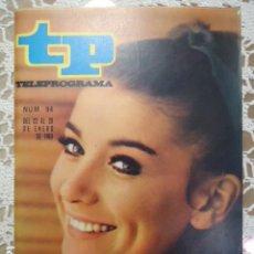 Coleccionismo de Revista Teleprograma: REVISTA TP TELEPROGRAMA Nº 94 SONIA BRUNO- DIFICIL DE CONSEGUIR. Lote 133580014