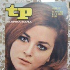 Coleccionismo de Revista Teleprograma: REVISTA TP TELEPROGRAMA Nº 121 MARIA MASSIP. Lote 133725554