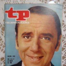 Coleccionismo de Revista Teleprograma: REVISTA TP TELEPROGRAMA Nº 152 JOAQUIN PRAT. Lote 133732986