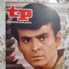 Coleccionismo de Revista Teleprograma: REVISTA TP TELEPROGRAMA Nº 154 STUART DAMON. Lote 133733258