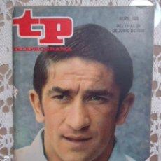 Coleccionismo de Revista Teleprograma: REVISTA TP TELEPROGRAMA Nº 168 URTAIN. Lote 133734198