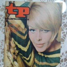Coleccionismo de Revista Teleprograma: REVISTA TP TELEPROGRAMA Nº 179 LADY GIMPERA. Lote 133734954