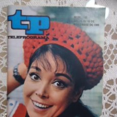 Coleccionismo de Revista Teleprograma: REVISTA TP TELEPROGRAMA Nº 188 ELISA MONTES. Lote 133735654